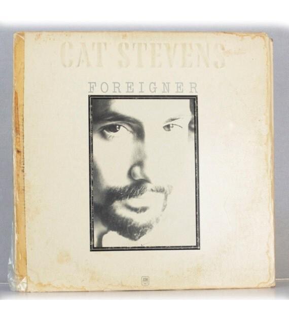 Cat Stevens - Foreigner Album A&M Records 1973 Original Vintage Vinyl Record