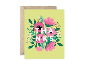 Springtime Thanks - Greeting Card