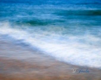 Limited Edition ~ Vineyard Waves ~ South Beach, Katama, Martha's Vineyard, Fine Art Canvas, Artwork, Seascape, Coastal, Fine Art Photography
