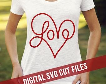 Love SVG - Valentine SVG - Heart SVG - Valentines Day Svg - Cutting File - Wedding Svg - Happy Valentines Day Svg - Wine Glass Svg Wine Svg