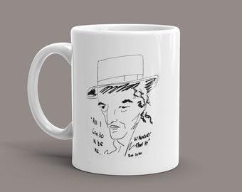 Bob Dylan Mug with quote
