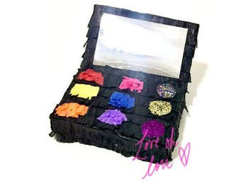 Makeup Pinata- Mini Piñata -Emoji Piñata - Photo Prop - Desk Decor - Spa Party - Party Favor -Birthday Gift