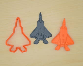 F22 Fighter Jet - Cookie Cutter