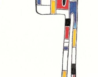 Mondrian Beast
