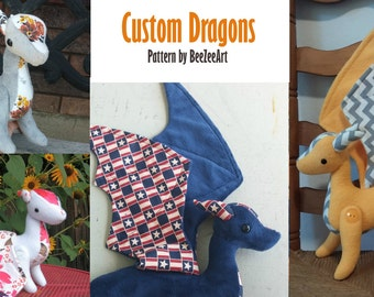Custom Dragon Plush