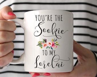 Gilmore Girls Mug, You're the Sookie to my Lorelai Mug, Best Friend Mug, Sister Mug, Sister Gift, Sister Mug, Aunt to be,