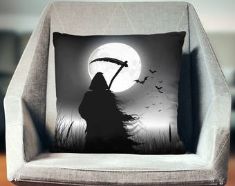 Grim Reaper   Scary Halloween Decorations   Halloween House Decoration   Halloween Pillow Case   Scary Halloween Decorations   Creepy Decor