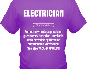 Magician Electrician Tee