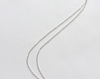 Sterling Silver Sparkle Wheel Minimalist necklace