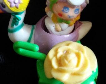 Vintage 1983 Hasbro CHARMKINS Twinkle Doll and Sun Flower Swan!!!