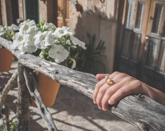 Rose quartz gold ring, rose pink ring, Rose quartz jewelry, pink gemstone ring, rose quartz ring, pink jewelry, gold ring with rose quartz