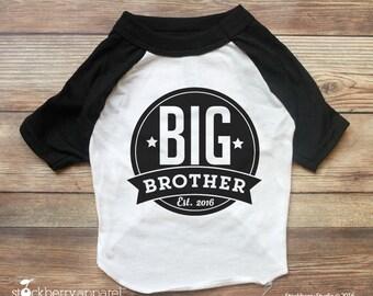 Dog Big Brother Shirt - Dog Pregnancy Announcement shirt - Dog Shirt Big Brother - Dog Shirt - Dog Baby Announcement - New Baby Announcement