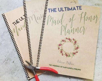 Maid of Honor Planner | Fully customizable