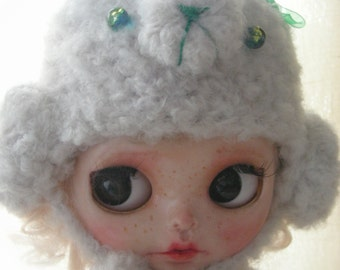 Animal Cap for Blythe or similar doll