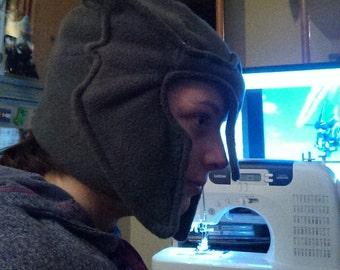 Fleece Helmet Hat