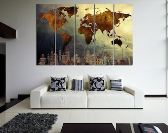 world map canvas art world map canvas map canvas world map wall art map on canvas world map print world map poster world map travel map
