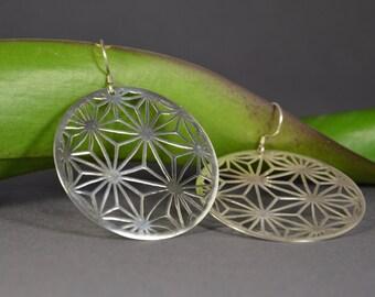 Handmade earrings, silver earrings, openwork earrings, dangle earrings, elegant earrings, silver jewelry, exclusive earrings