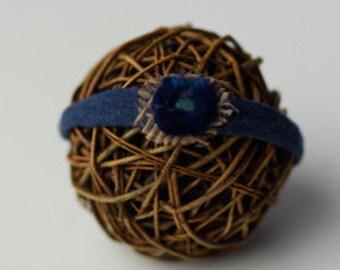 Blue Newborn headband