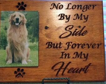 Pet Commemorative Carved Plaque
