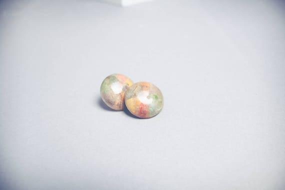 Dried Leaf Earrings