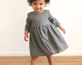Kết quả hình ảnh cho kid with linen dress