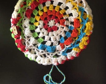 Crochet Stool Cover - Round