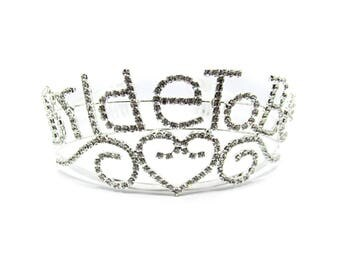 Bride To Be Rhinestone Tiara   Bride To Be Crown   Bridal   Bachelorette Party Rhinestone Tiara   Bride To Be Tiara   Bridal Shower Tiara