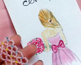 Blush pink seed bead bracelet, Seed bead bracelet, Pink seed bead bracelet