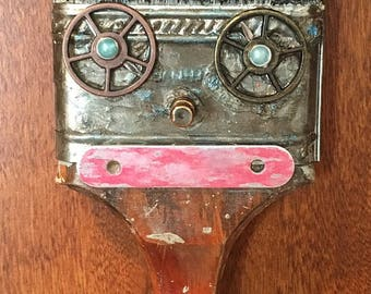 Altered Paint Brush - Steampunk
