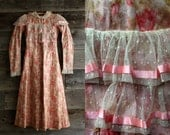 SALE Antique 1900s Child Dress