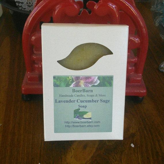 Lavender Cucumber Sage Soap