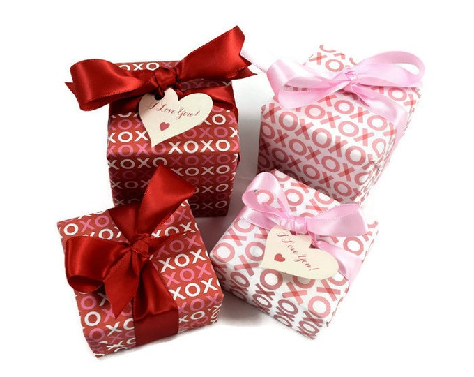 Valentine's Gift, Soap Gift, XO's soap gift, Valentine's day gift,  I love you gift, be mine, girlfriend gift, hugs & kisses, ex's and oh's