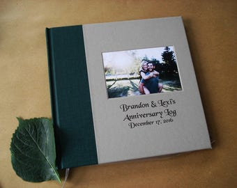 Wedding Anniversary Photo Album · Personalized Anniversary Scrapbook · Marriage Scrapbook · Our Years Together · Anniversary Keepsake Album