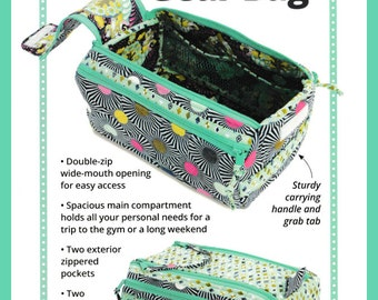 Double Zip Gear Bag Pattern by Annie - Free Domestic Shipping