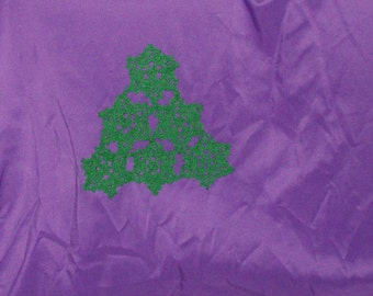 Christmas Pine Tree  Doily Table Decoration Crochet Doily Green Tree Doily Holiday Decor Cotton Doily