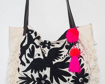 Fernanda Fringe Handbag