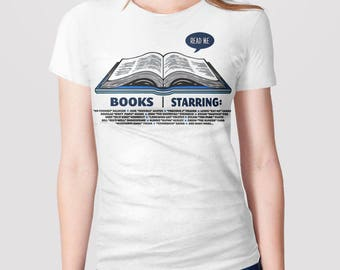 Funny Literary Shirt and Book Nerd Gift for Readers: Book T-Shirt for Book Lovers, Gift for Geek Shirt, Funny Reading Gift for Bookworm Tee