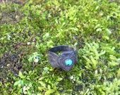 Vintage Silver and Turquoise rings - Arrowhead and Snake