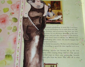 Audrey Hepburn bookmark