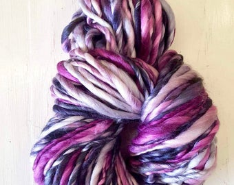 Blackberry Eis Ultra Chunky Long Scarf Crocheted Scarf Silk Wool Lavender Purple Violet Blue Spring Summer Color Audrey Knitted Mothers Day