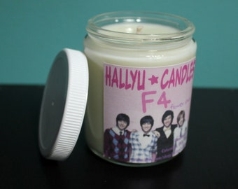 F4 - Boys Over Flowers - Soy Candle - 8oz - Flower Shop