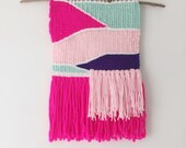 eloise / hand woven wall hanging