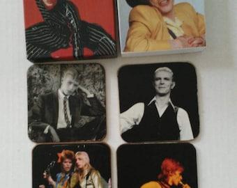David Bowie coaster set and box