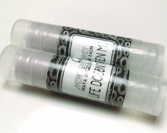 Life Doesn't Frighten Me ~ a Maya Angelou inspired lip balm
