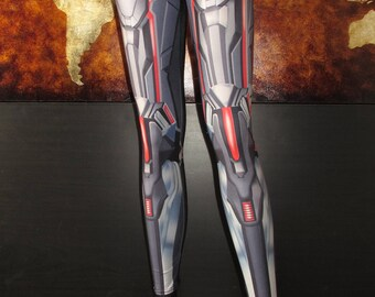 NEW! TAFI Anime Armor Leggings - Sci-Fi Fantasy Armour Costume Yoga Pants 2017 Black Milk Galaxy CosPlay Print