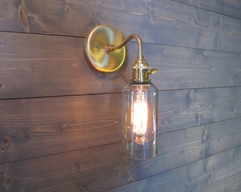 Wine Glass Wall Lights : Sconce Lights Etsy