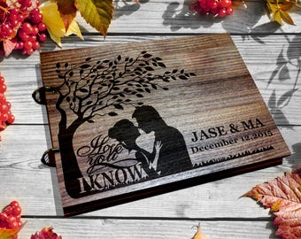 Wedding Guest Book / I love you I know / star wars gift  Guest Book  / Custom Wedding book / star wars wedding / wedding gift/ Guest Book