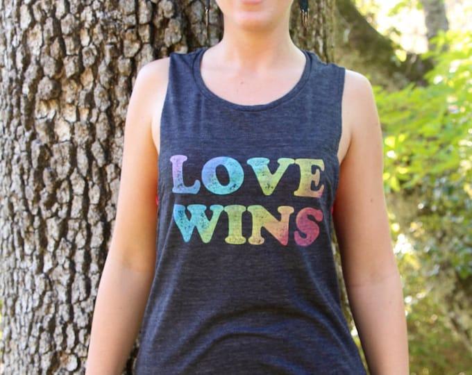 LOVE WINS Muscle Tee