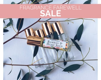 BAMBOO & HEMP SEED Natural Roll-On Perfume   Natural Perfume