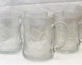 Set of 6 Arcorac Canterbury Crocus Mugs